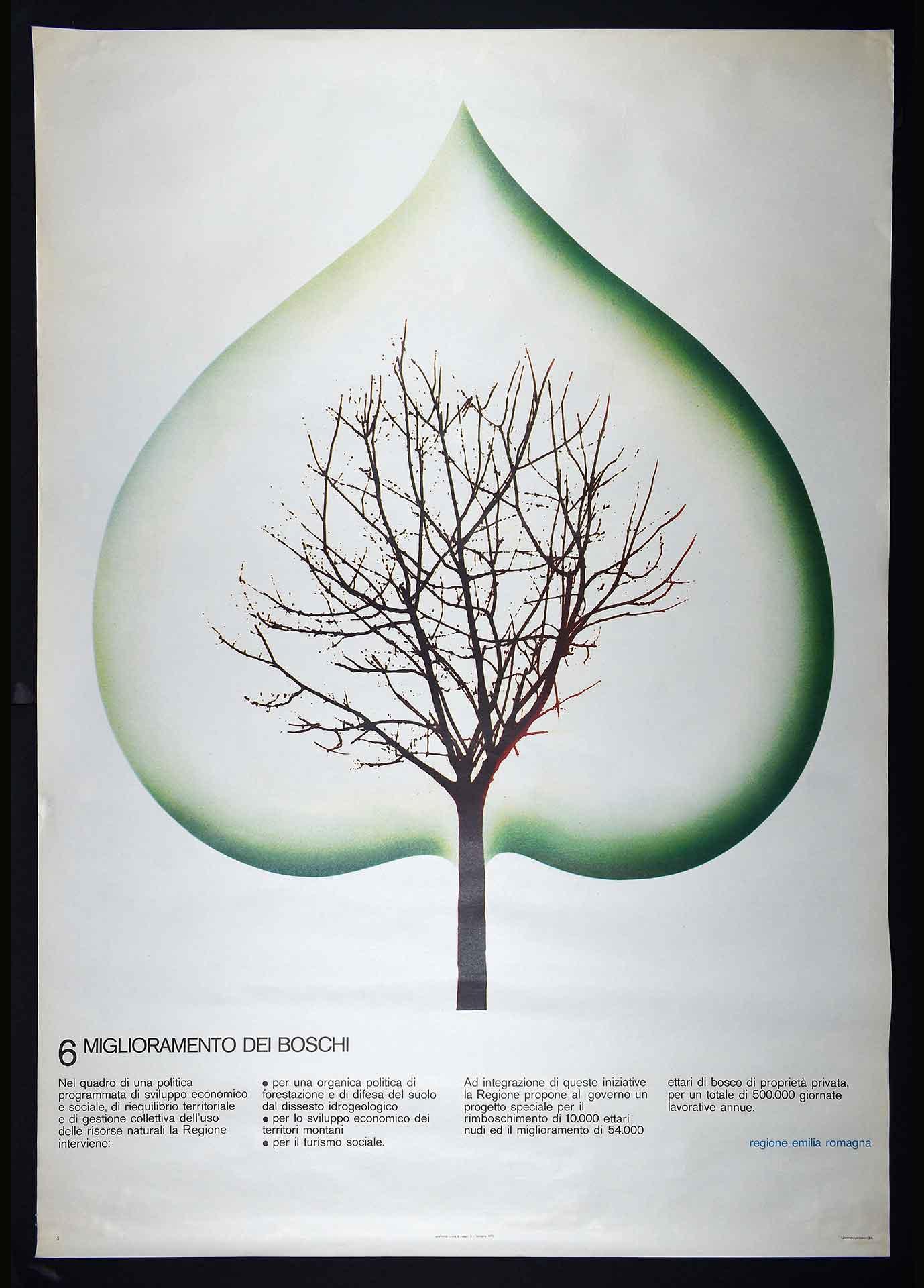 Regione Emilia-Romagna. Stampa Graficoop, Bologna. Campagna istituzionale.